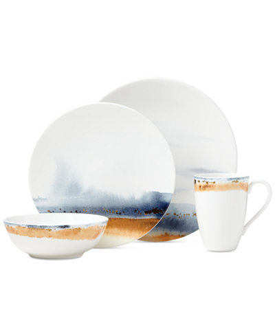 Lenox Watercolor Horizons 4 Pc Place Setting Created For