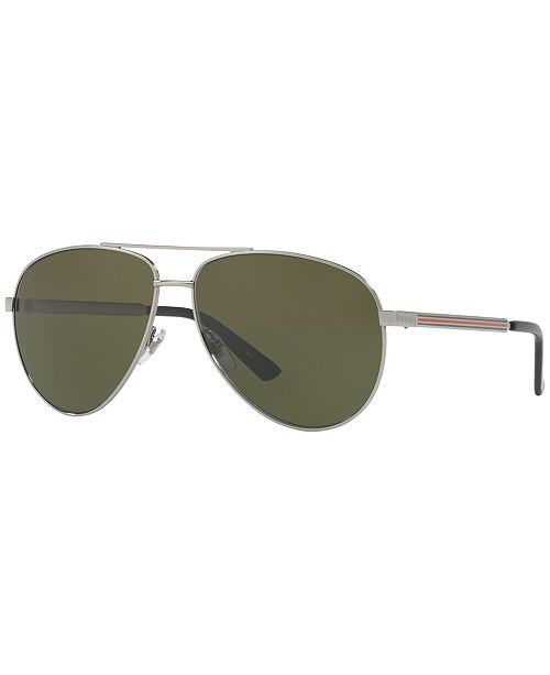 2d72c829a Gucci Sunglasses, GG0137S & Reviews - Sunglasses by Sunglass Hut ...
