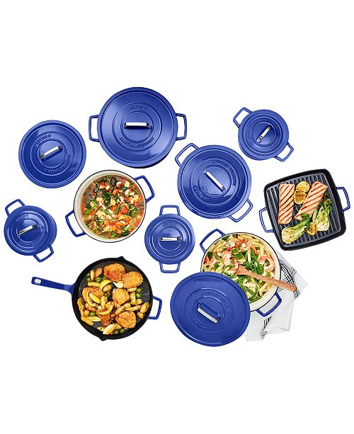 Martha Stewart Collection CLOSEOUT! Cast Iron Cookware, Created for Macy's