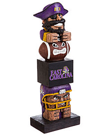 Evergreen Enterprises East Carolina Pirates Tiki Totem