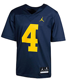 Nike Michigan Wolverines Replica Football Game Jersey, Big Boys (8-20)