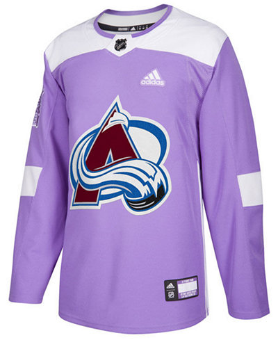 adidas Men's Colorado Avalanche Authentic Hockey Fights Cancer Jersey