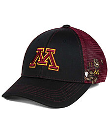 Top of the World Minnesota Golden Gophers Peakout Stretch Cap