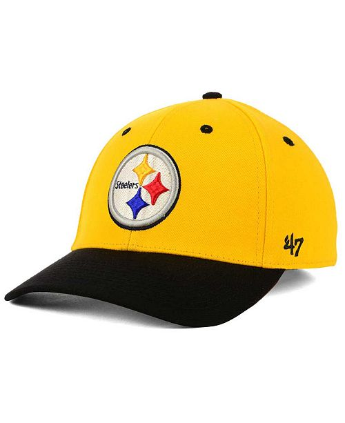 cheaper 3e6b7 8336b  47 Brand. Pittsburgh Steelers Kickoff 2-Tone Contender Cap. Be the first  to Write a Review. main image ...