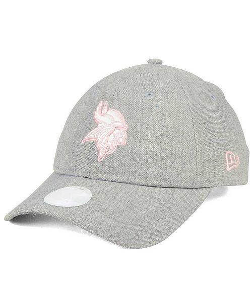 c6736dd3 New Era Women's Minnesota Vikings Custom Pink Pop 9TWENTY Cap ...