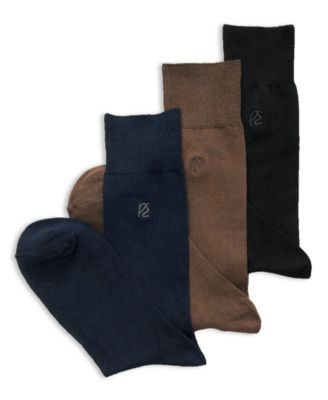 Image of Perry Ellis Men's Socks, Rayon Dress Sock Single Pack