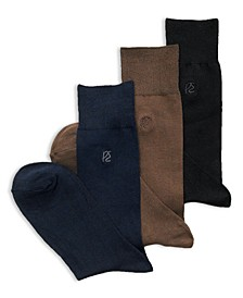 Men's Socks, Rayon Dress Sock Single Pack