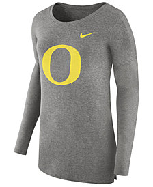 Nike Women's Oregon Ducks Cozy Long Sleeve T-Shirt