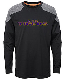 Outerstuff LSU Tigers Gamma Long Sleeve T-Shirt, Big Boys (8-20)