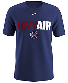 Nike Men's Javier Baez Chicago Cubs Local Pack T-Shirt