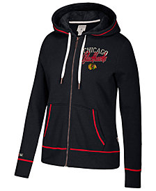 CCM Women's Chicago Blackhawks Full-Zip Hooded Sweatshirt