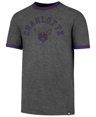 '47 Brand Men's Charlotte Hornets Capital Ringer T-Shirt