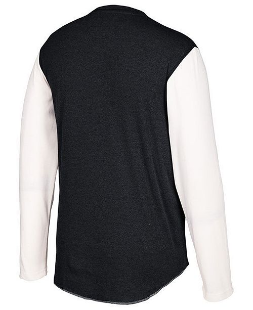 the latest 37038 0b542 Men's Anaheim Ducks Long Sleeve Henley Shirt