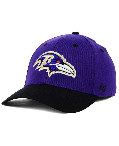 100% authentic 9b1be f40bf  47 Brand Baltimore Ravens Kickoff 2-Tone Contender Cap    ...