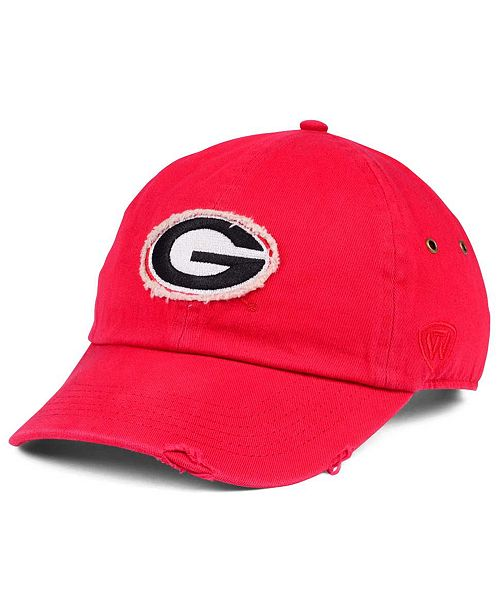 Top of the World Georgia Bulldogs Rugged Relaxed Cap - Sports Fan ... 079ad873d28