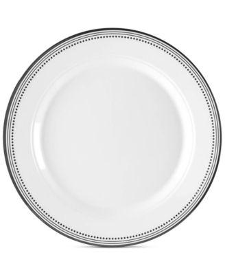 Classica In Black 8  Melamine Salad Plates Set Of 4  sc 1 st  Macyu0027s & Q Squared Classica In Black 8