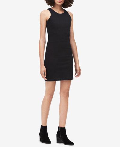 Calvin Klein Jeans Denim Sheath Dress