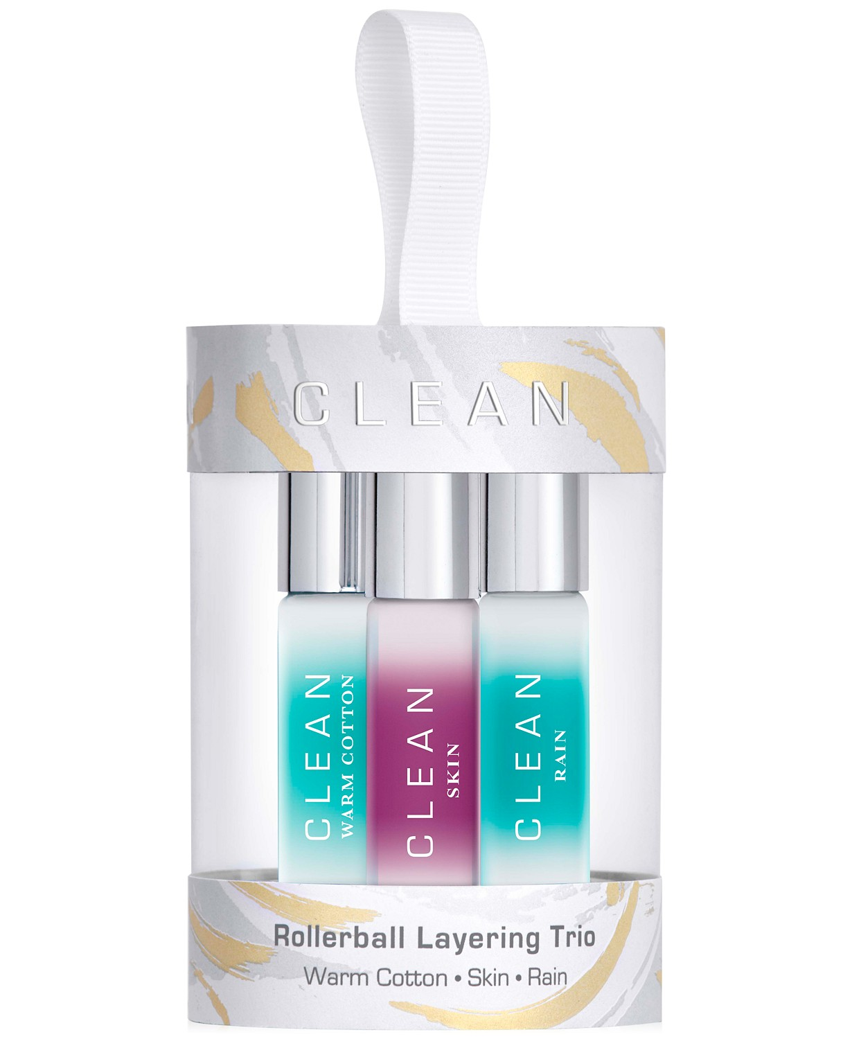 CLEAN Fragrance 3 Piece Eau de Parfum Rollerball Layering Set