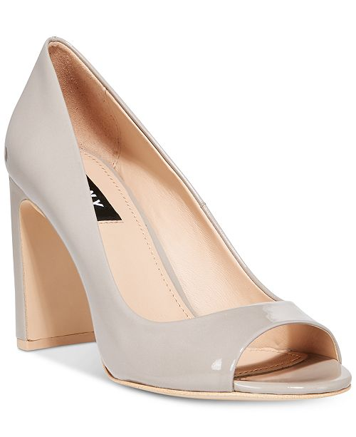 1cff9490af9 DKNY Jade Peep-Toe Pumps, Created For Macy's & Reviews - Pumps ...