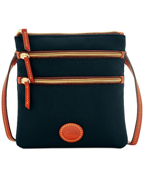 5f5f723a31 Dooney   Bourke North South Triple Zip Nylon Crossbody   Reviews ...