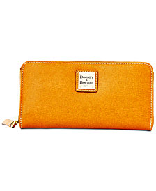 Dooney & Bourke Saffiano Large Zip Around Wallet