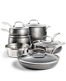 CLOSEOUT! Aluminum 11-Pc. Cookware Set, Created for Macy's