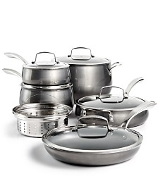 Belgique Aluminum 11-Pc. Cookware Set, Created for Macy's