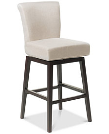 Grantz Swivel Bar Stool, Quick Ship