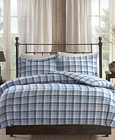 Woolrich Tasha 3-Pc. Cotton Flannel Queen Comforter Mini Set
