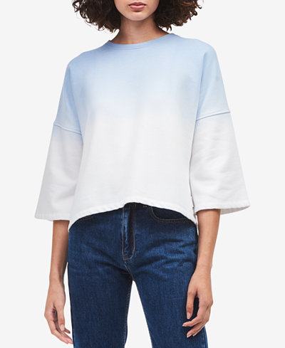 Calvin Klein Jeans Dip-Dyed Sweatshirt