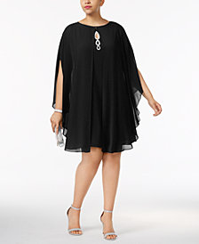 SL Fashions Plus Size Shift Dress