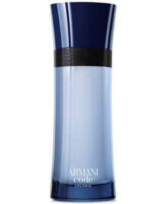 Men's Armani Code Colonia Eau de Toilette Spray, 6.7 oz., Created for Macy's