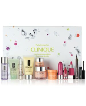 Clinique Party Favourites Gift Set - Only $49.50 with any $29.50 Clinique purchase (A $190.50 Value)!