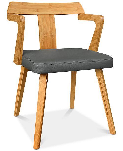 Gallerie Decor Vista Dining Chair, Quick Ship