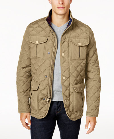 Tommy Hilfiger Men's Keyport Quilted Jacket - Coats & Jackets ... : quilted mens jacket outerwear - Adamdwight.com
