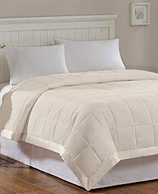 Madison Park Windom Twin Down Alternative Blanket, Microfiber with 3M Scotchgard moisture management treatment