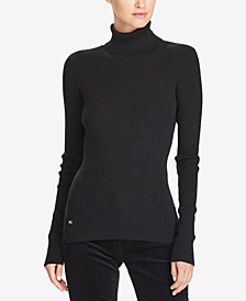 Lauren Ralph Lauren Ribbed Turtleneck Sweater