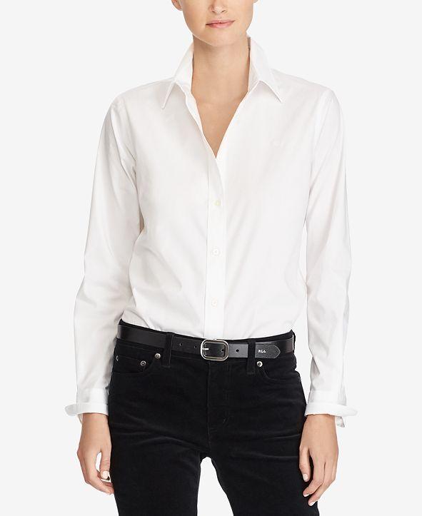 Lauren Ralph Lauren Non-Iron Straight-Fit Shirt
