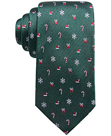 Club Room Men's Holiday Medley Silk Tie, Created for Macy's