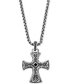 Scott Kay Men's Onyx Pendant Necklace in Sterling Silver