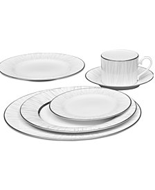 Noritake Glacier Platinum Dinnerware Collection