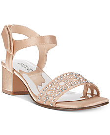 Badgley Mischka Ascot Gems Embellished Sandals, Little Girls (11-3) & Big Girls (3.5-7)