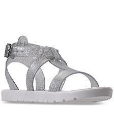 Nine West Big Girls' Heyleigh Gladiator Jelly Sandals from Finish Line