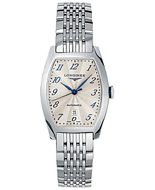 Men's Swiss Automatic Evidenza Stainless Steel Bracelet Watch 26x30.6mm