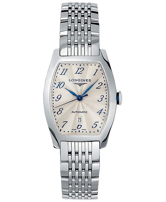 Longines - Men's Swiss Automatic Evidenza Stainless Steel Bracelet Watch 26x30.6mm