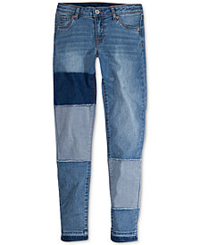 Levi's® 710 Super Skinny Patch Jeans, Big Girls