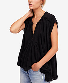 Free People Aster High-Low Henley