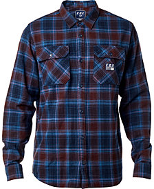 Fox Men's Trail Dust Plaid Flannel Shirt