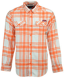 Columbia Men's Clemson Tigers Flare Gun Flannel Long Sleeve Shirt