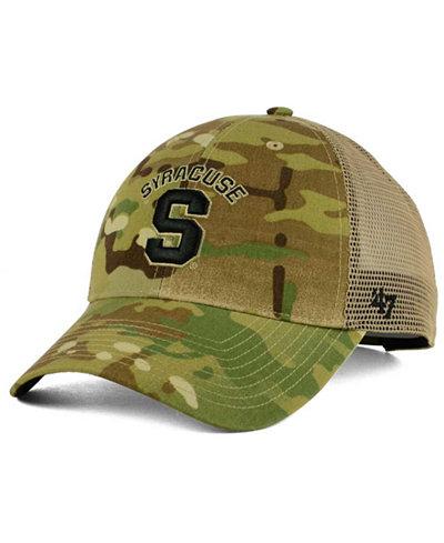 '47 Brand Syracuse Orange Operation Hat Trick Thompson Cap